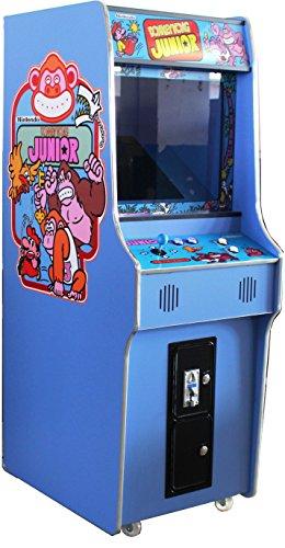 US-Way e.K. G-18 Blue Arcade Video Maschine TV Spielautomat Standgerät Cabinet Automat 412 Spiele Jamma Games Machine