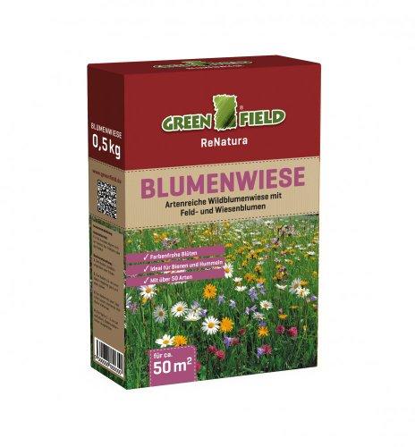 Blumenwiese Wildblumenwiese GF 500 g für 50 m²