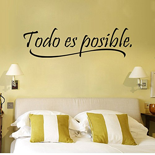 Small htrdjhrjy Hermoso Frase Pared Adhesivos Removibles Believe IN Yourself Vinilo Adhesivo Decoraci/ón Hogar Bricolaje para Decoraci/ón Hogar Negro Vertical 30 33cm