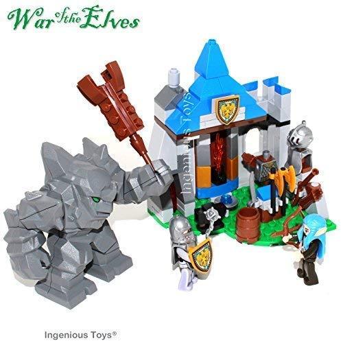 f The Elfen - Invade of The Rock Riese - Passend BAU Block Set #B303 ()