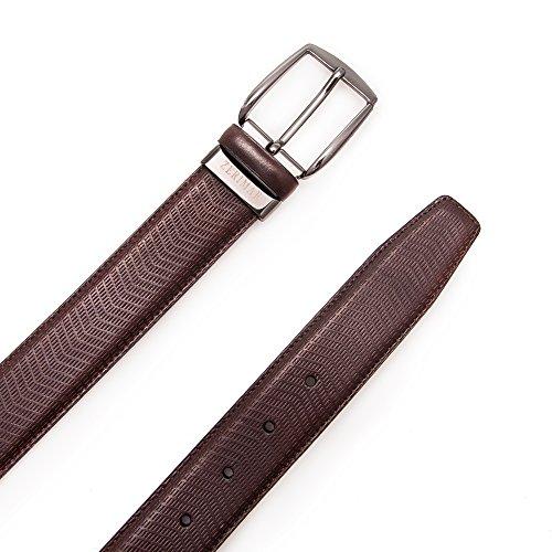 Authentique ceinture faite avec peau de vachette. Mesures: 95-100-105-115 cm. Couleur brun. Brun