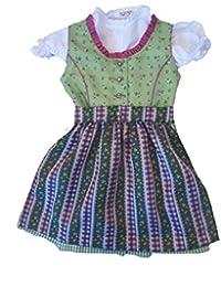 Tradicional Niños tirolesa con blusa Talla 68–164