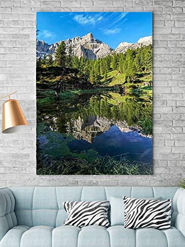 Tipolitografie Ghisleri Keilrahmen Senza-cornice-70x100-canvas-pxbay-dolomiti