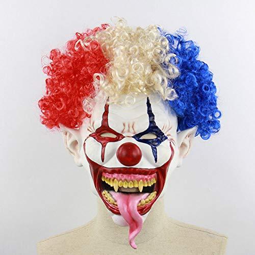 Explosive Kopf Clown Halloween Maske Scary Gruselige Horror Cosplay Kostüm Bandana Latex Scary Kopf Zombie Maske