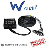 W Audio Multicore-Kabel 8 XLR/4 15 m