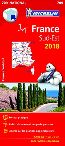 Descargar Libro Carte France Sud-Est Michelin 2018 de Michelin