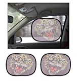 #5: Ed Hardy Car Side Window Stick On Sunshades Set Of 2-For Cars