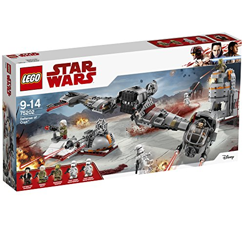 LEGO Star Wars Defense of Crait 75202 Star Wars Spielzeug