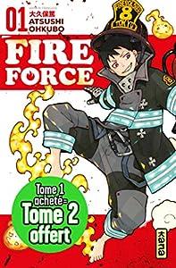 Fire Force Pack découverte Tome 1 + 2 gratuit