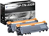 2 Schneider Printware Toner je 6.000 Seiten  | mit 125 Prozent mehr Druckleistung | als Ersatz für TN-2320 TN2320, für Brother HL-L2300D, HL-L2340DW, HL-L2360DN, HL-L2365DW, MFC-L2700DW, MFC-2720DW, MFC-2740DW, DCP-L2500D, DCP-L2520DW, DCP-L2540DN