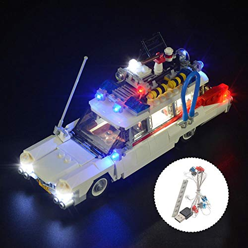 Jeu de Lumières Kit éclairage LED pour blocs LEGO 21108 Ghostbusters...