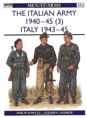 The Italian Army 1940-45 (3): Italy
