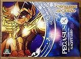 Cavalieri dello zodiaco Pegasus con armatura d'oro sagittario