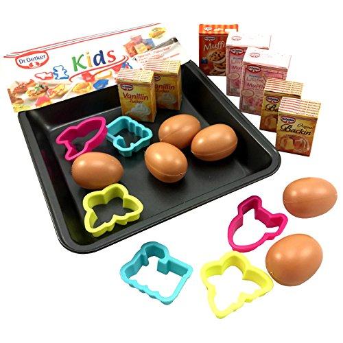 Tanner 1524 - Dr. Oetker Plätzchen Backsortiment Backblech und Eier, Spielzeug