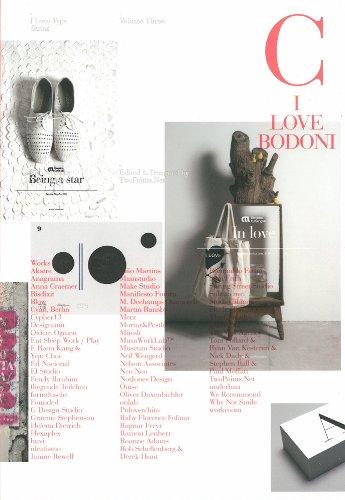 I Love Type 03 Bodoni par Gingko Press