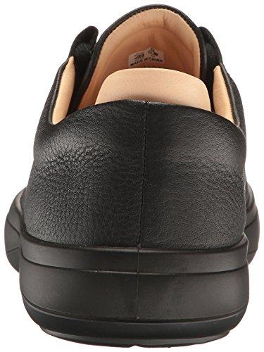 Ecco Herren Kinhin Sneaker Schwarz (Black/Veg Tan)