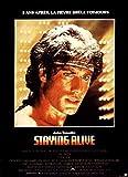 Staying Alive, 1983, John Travolta - 116 x 158 cm, Cinema