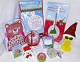 110697 Kinder Mitgebsel Set X-Mas 10er Überraschungs Set zum Befüllen für Adventskalender oder kleine Geschenke