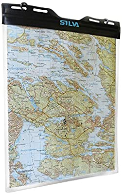 Silva Kartenhülle Dry Map Case M, Transparent, One size, 30-0000039022 von Silva - Outdoor Shop