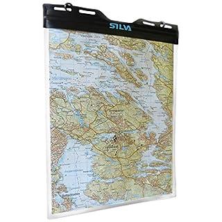 Silva Kartenhülle Dry Map Case L, Transparent, One Size