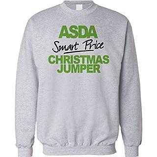 Christmas Jumper Sweater Mens Ladies Funny Asda Smart Price Value Sweatshirt Xmas Gift Unisex