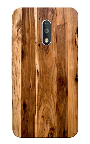 Caseria Light Brown Slim Fit Hard Case Cover/Back Cover for Moto G4 Plus/Motorola Moto G4/Moto G Plus 4th Gen/Moto G 4th Gen  available at amazon for Rs.179