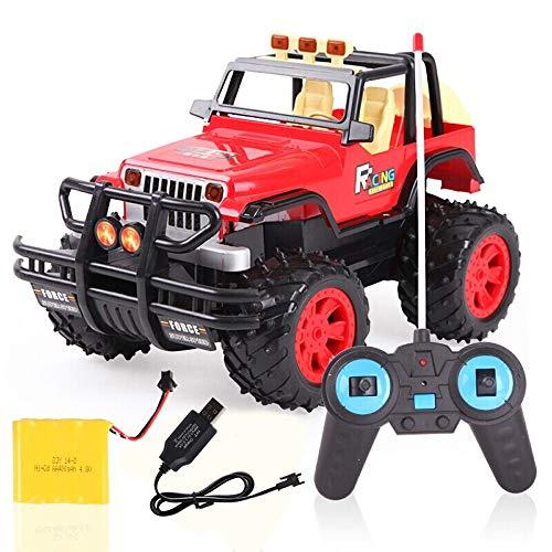 Tritow Mini RC Auto 4WD 40km / h High Speed   1/14 Auto Funkferngesteuerte Maschine 4CH Fernbedienung Auto Spielzeug Beleuchtet Drift Offroad Racing Kinder Geschenk