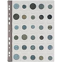 9937baa97e Favorit 100500067 Busta Porta Monete con 30 Tasche Formato 4X4,5 con  Patella di Chiusura