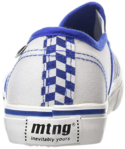 MTNG Attitude sportschuhe - Sneakers ROMBOS AZUL / CANVAS 2 BLANCO