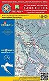Paklenica NP 1:25.000 Wanderkarte (Kroatien)