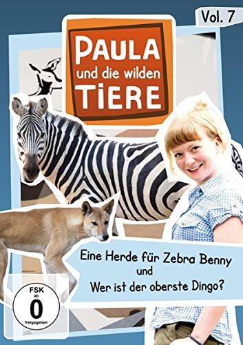 Paula und die wilden Tiere, Vol. 7: Eine Herde für Zebra Benn/Wer ist der oberste Dingo?