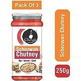 Ching's Secret Schezwan Chutney, 250g- Pack of 3