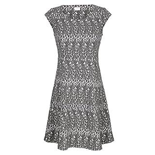 Alba Moda Damen Kleid Grau