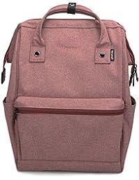 Himawari Mochila de Viaje para Ordenador portátil Bolsa de pañales Grande Mochila Mochila Mochila Escolar para
