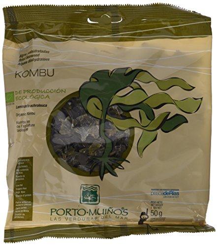 Foto de Porto Muiños Alga Kombu Deshidratada - Paquete de 2 x 50 gr - Total: 100 gr