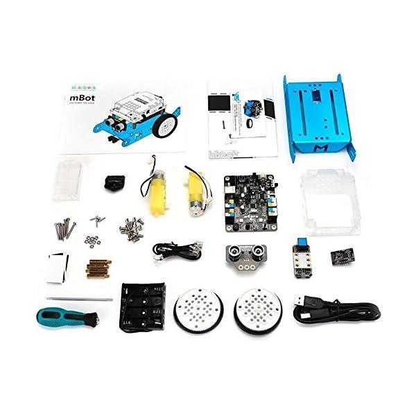 51ln Ugl%2BZL. SS600  - Makeblock - Robot Educativo MBOT, V1.1, Bluetooth