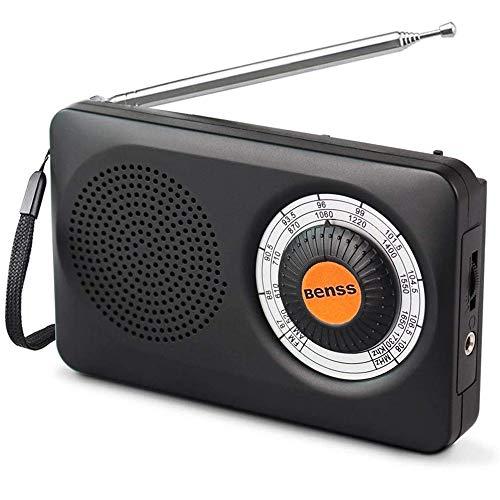 Taschenradio Pocket AM FM Digitales Radio Mini Tragbares Radio Klein Transistor Stereo Radio mit Eingebauten Lautsprechern, Kopfhörerbuchse, Batteriebetrieben