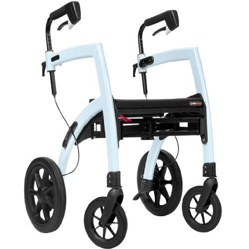 Rollz Motion All in one Rollator & Wheelchair Orange by Rollz Motion