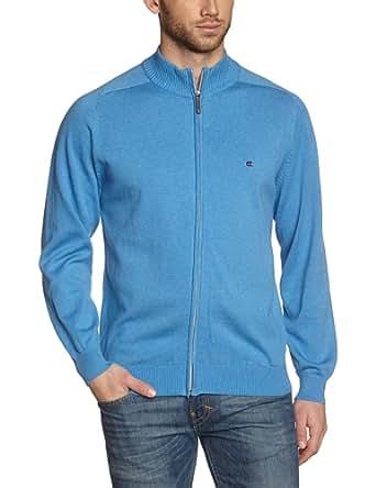 CASAMODA Herren Strickjacke Comfort Fit 004250/100, Gr. 48 (S), Blau (100 hellblau)