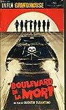PLAQUETTE DE FILM - BOULEVARD DE LA MORT - un film de quentin tarantino avec kurt...