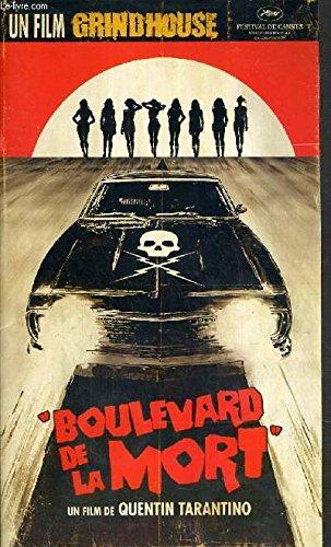 PLAQUETTE DE FILM - BOULEVARD DE LA MORT - un film de quentin tarantino avec kurt russel, rosario dawson, vanessa ferlito, jordan ladd....