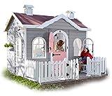 GREEN HOUSE - Kinderspielhaus aus Holz mit Terrasse AVA