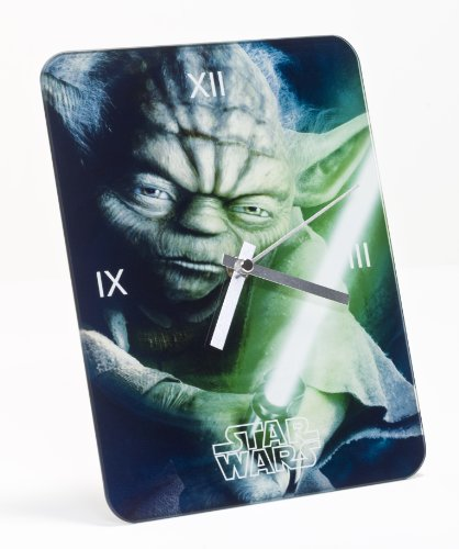 Star Wars Wecker Analog Yoda 24x18 cm in Geschenkpackung 26388