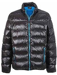 JAMES&NICHOLSON - veste duvet - anorak doudoune HOMME - JN1064 - couleurs vives