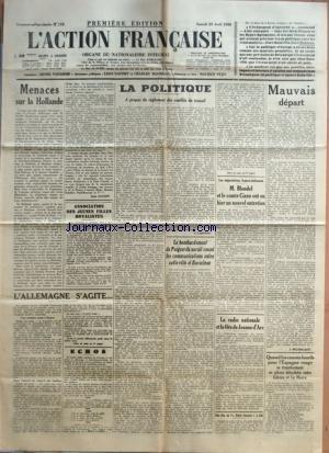 ACTION FRANCAISE (L') [No 113] du 23...