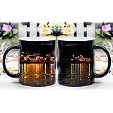 LeeQueen Magica Taza - Calor Reactiva Cambia de Color Taza de Café - Castillo Ennis Irlanda Milagrosamente Muestran - El Mejor Regalo de Ideas de Su Elección