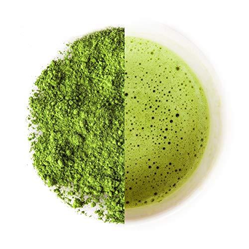 Organic Matcha Pulver Tee – CEREMONIAL GRADE – Green Tea powder aus der Uji Region Japan – frisch kraftvoll & cremig (30g)