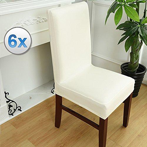 Vinteky® 6X Cubierta Asiento Funda Silla Comedor