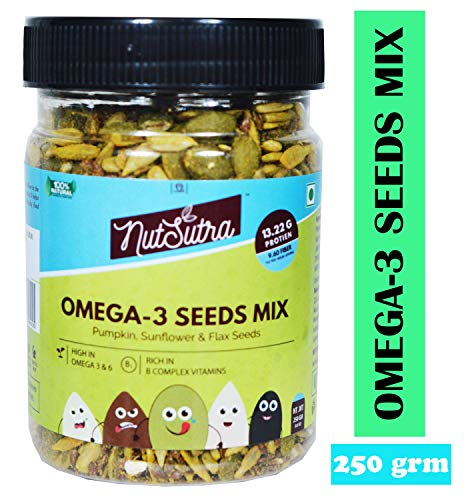 NUTSUTRA Omega 3 Seeds Mix 250 gm