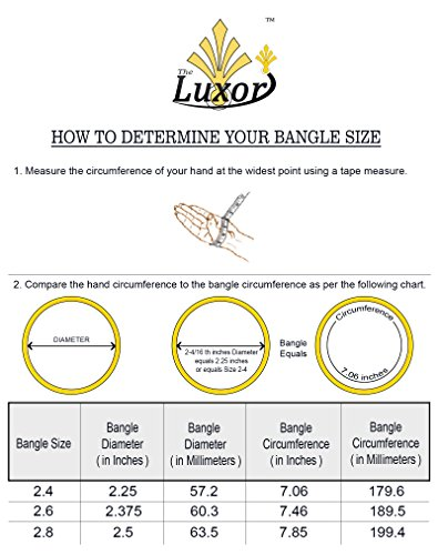 The Luxor Gold Plated Managalsutra & Bangle Set Combo for Women